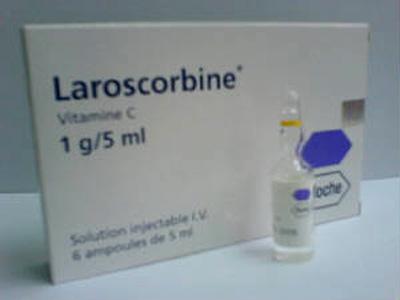 LAROSCORBINE ROCHE 1000 Mg (1 Gr)