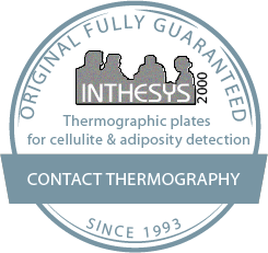 Thermographic plates for cellulite & adiposity detection